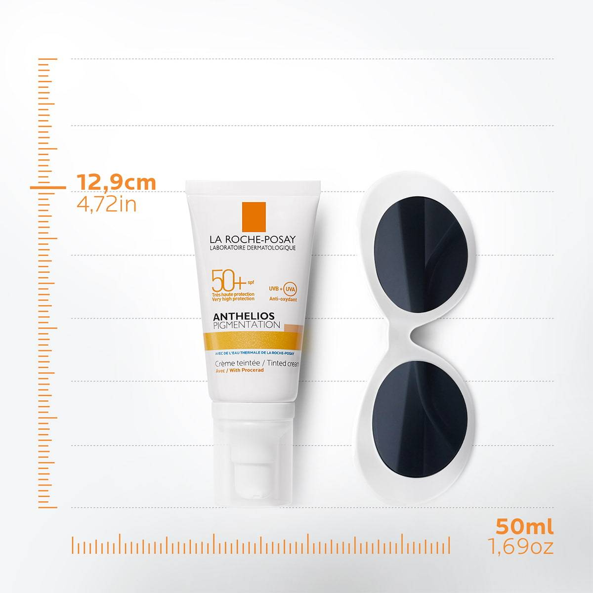 La Roche Posay ProductPage Sun Anthelios Pigmentation Tinted Cream Spf