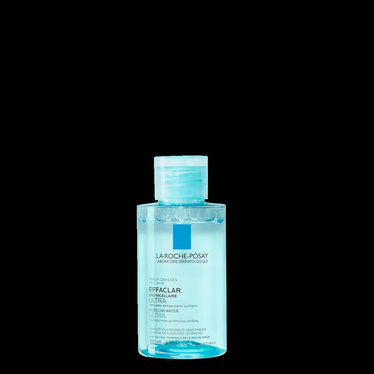 La Roche Posay Face Cleanser Effaclar Micellar Water Ultra 100ml 33378