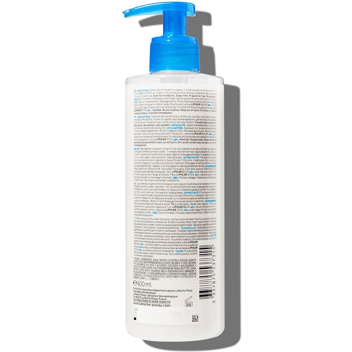 La Roche Posay ProductPage Eczema Lipikar Syndet AP 400ml 333787553731